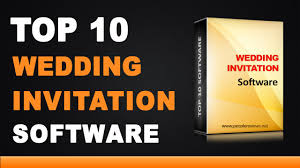 wedding invitation software best wedding invitation design software top 10 list
