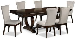 7 piece dining room set 7 piece round dining room sets gallery 7piece dining room set cherry and beige hover to zoom