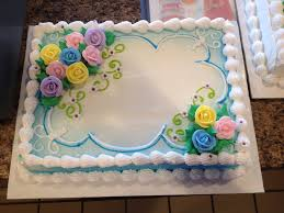 dq cakes dairy queen floral sheet cake 810 pinterest