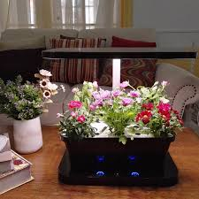 led grow light with planting tray and water pump led plant growth