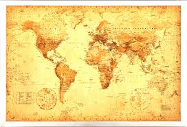 Amazon World Map by Vintage World Map Background Aged Treasure Stock Photo Picture And