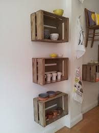 best 25 wood crate shelves ideas on pinterest crates crate