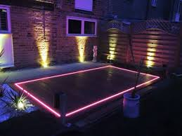 Outside Landscape Lighting - tec electrical services ltd outside landscape lighting
