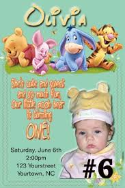 baby winnie the pooh tigger to personalized birthday party