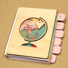 travel photo album write click scrapbook mini albums