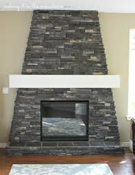 diy fireplace mantel making it in the mountains