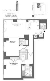 2 Bedroom Condo Floor Plan 1 Bedroom Condo Floor Plans Valine
