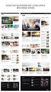 blogit clean blog magazine wordpress theme by webnus themeforest