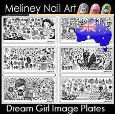 unbranded metal nail art stencils ebay