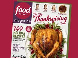 food network magazine november 2017 recipe index food network