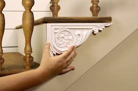dress up your stairs with decorative stair brackets official