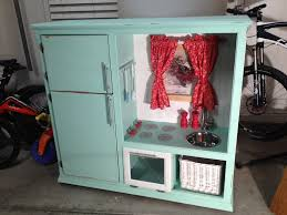 play kitchen from entertainment center i did it play kitchen
