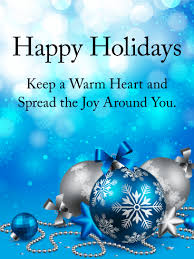 warmest wishes photo card spread the around you happy holidays card birthday