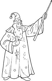 wizard printable coloring pages coloring pages people