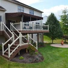 Backyard Deck And Patio Ideas by Best 25 Deck Stairs Ideas Only On Pinterest Outdoor Deck