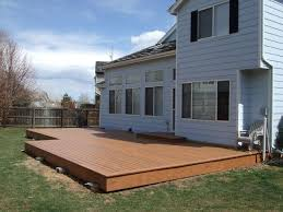 Backyard Deck Pictures by Best 25 Low Deck Designs Ideas On Pinterest Low Deck Backyard
