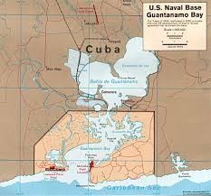 Map Cuba Atlas Of Guantanamo Bay Wikimedia Commons