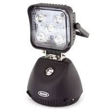 rechargeable magnetic work light led magnetic base rocking mount rechargeable work l car builder