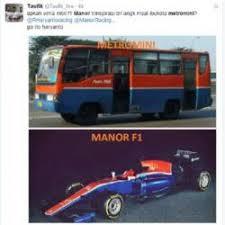 Meme Mobil - geger meme warna mobil balap rio haryanto mirip metro mini