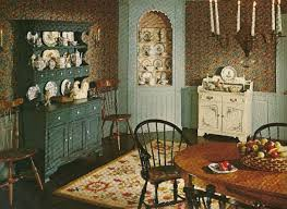 Vintage Home Decor With Dull Brown Colored Furniture And Idea