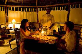 ristorante a lume di candela roma mafia island pole pole lodge viaggi e offerte sub mafia island