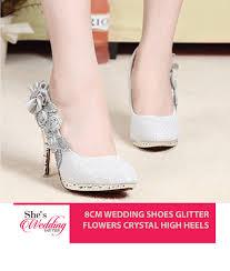 wedding shoes malaysia buy wedding shoes online malaysia glitters heels she s wedding