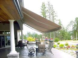 Motorized Awnings For Sale Retractable Awnings Waagmeester Canvas Products