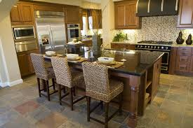 Natural Wood Kitchen Island 39 Fabulous Eat In Custom Kitchen Designs