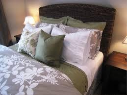 Black Wicker Bedroom Furniture by Bedroom Cool Black Wicker Pottery Barn Seagrass Headboard King