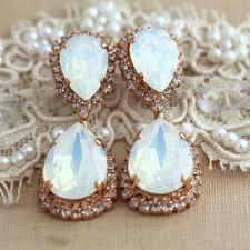 Chandelier Earrings Bridal Shop Opal Chandelier Earrings On Wanelo