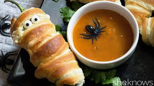 Halloween Dips Appetizers by
