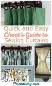 How Much Fabric To Make A Shower Curtain Curtains Make A Great Go To Sewing Project For Beginners And