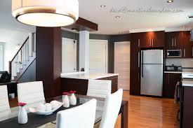 salon cuisine aire ouverte avant après une aire ouverte transformée martine bourdon