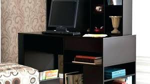 Small Black Corner Desk Black Desk With Hutch Modern Black Computer Desk With Storage