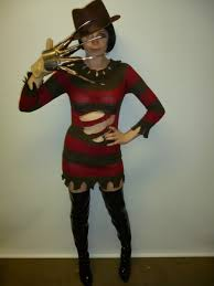 Halloween Freddy Krueger Costume Freddy Kreuger Womens Costume Creative Costumes