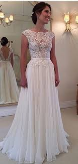 chiffon wedding dress wedding dresses lace best photos wedding dress lace bodice and