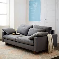 west elm harmony sofa reviews harmony sofa 82 westelm my house pinterest living rooms