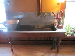 Pasadena Housewife  Blog Archive  Billings Farm Kitchen - Kitchen sink on legs