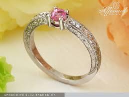 eljegyzesi gyuru aphrodité slim barokk no3 engagement ring affianced karikagyűrű