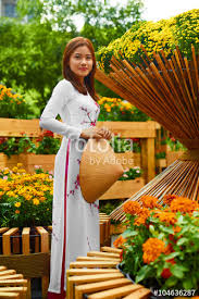 traditional clothing of vietnam asia beautiful happy asian
