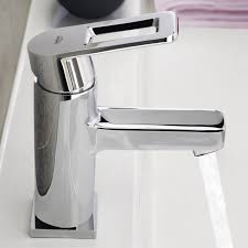 grohe quadra 23105000 single handle bathroom sink mixer tap smooth