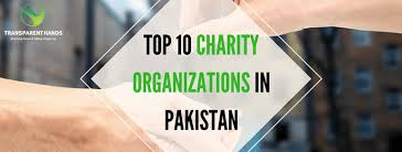 list of top 10 charity organizations in pakistan