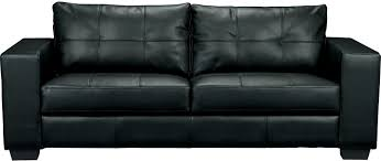 The Brick Leather Sofa Living Room Furniture Costa Black Bonded Leather Sofa The Brick