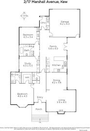 shaughnessy floor plan 2 17 marshall avenue kew marshall white