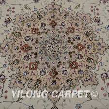 Kashmir Rugs Price Yilong 6 U0027x9 U0027 Handmade Kashmir Wool Beige Thick Carpet Exquisite