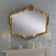 ornamental gold frame sicily mirror 107 x 81cm exclusive mirrors