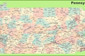 map of pa pennsylvania road map pa road map pennsylvania highway map road