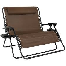 Zero Gravity Patio Lounge Chairs Best Choice Products Folding 2 Person Oversized Zero Gravity Lounge Ch