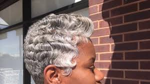 black women short grey hair 2017 gray short hairstyles black women dallas texas youtube