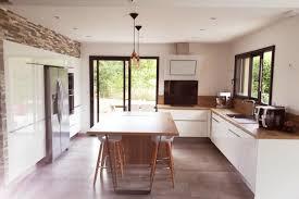 grande cuisine moderne cuisine client du blanc partout pour cette grande cuisine moderne